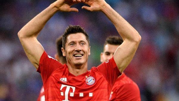 Lewandowski rinnova col Bayern
