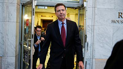 U.S. Justice Department declines to prosecute Comey despite finding that he leaked info