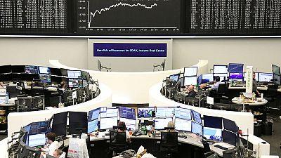 مكاسب للأسهم الإيطالية وآمال التجارة تدفعان الأسهم الأوروبية لأعلى مستوى في نحو شهر