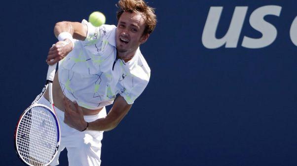 Medvedev overcomes cramps to reach U.S. Open third round