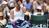 Suarez Navarro fined $40,000 after retiring in U.S. Open first round