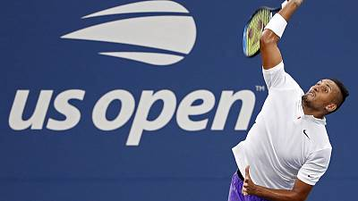 Kyrgios gets hot under collar in pre-match row with umpire