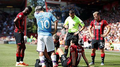 Knee injury ends Bournemouth defender Daniels' season