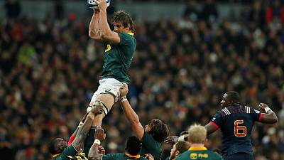 Rugby - Springbok Etzebeth denies racial incident, meets Human Rights Commission