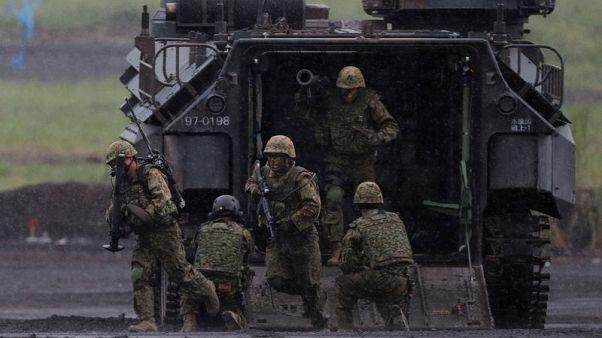 اليابان تسعى لزيادة الإنفاق العسكري للعام الثامن على التوالي