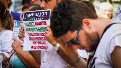 Sciopero fame Navigator, primi malori