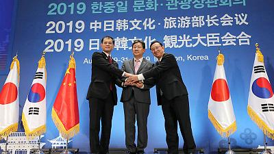 China, Japan, South Korea to step up cultural ties despite rows