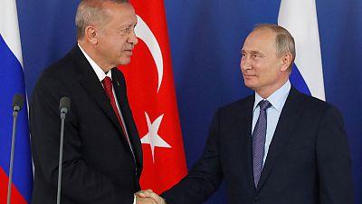 Erdogan says eyeing Russian jets; plans to meet Trump in New York
