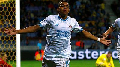 PSV striker Malen set for Netherlands debut