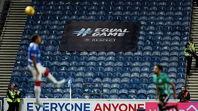 Rangers handed another partial stadium ban for fans' racist behaviour