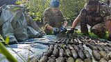 Comsubin, rimosse 4500 bombe da lago
