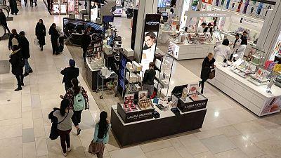 Strong consumer spending seen underpinning U.S. economy