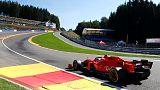 Leclerc leads Vettel in Belgium as Ferrari dominate practice