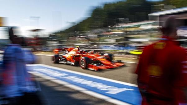 Libere gp Belgio: Ferrari restano avanti