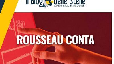 M5s, voto su Rousseau conta