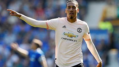 Man United's Smalling completes loan move to AS Roma