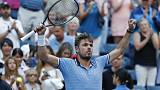 Wawrinka into last 16 after hard-fought win over Lorenzi