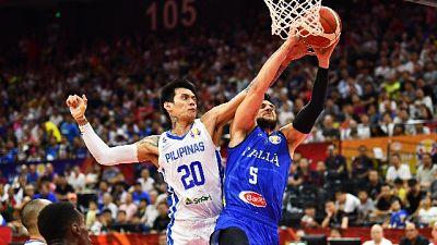 Basket: Mondiali,Italia-Filippine 108-62