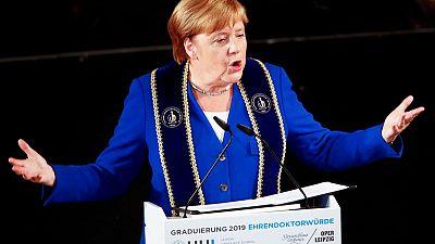 Merkel hints at return to academia after politics