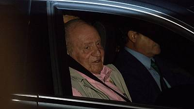 Spain's King Juan Carlos leaves hospital a week after heart surgery