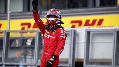 """F1: Belgio, Leclerc """"sensazioni ottime"""""""