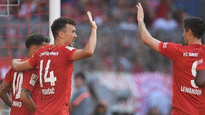 Bayern a valanga sul Magonza,Perisic-gol