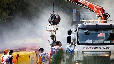 F2: incidente a Spa, gara cancellata