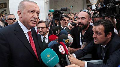 Turkey to launch own Syria plan in weeks unless has 'safe zone' control - Erdogan