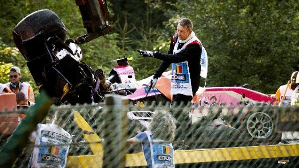 F2: media belgi, morto il pilota Hubert