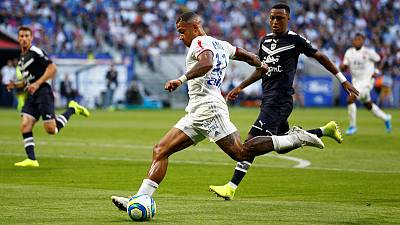 Lyon lose ground on leaders PSG after draw with Bordeaux