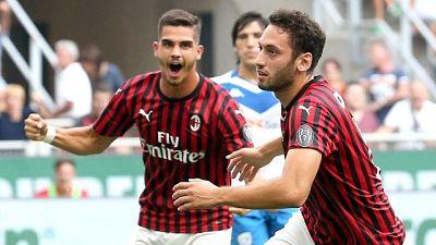 Serie A: Milan-Brescia 1-0