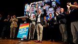 Merkel allies weather far-right surge in German regional elections