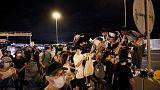 Hong Kong protesters target airport but planes keep flying