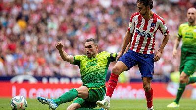 Liga: Atletico Madrid a punteggio pieno