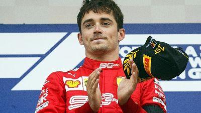 "Domenicali ""Leclerc mi ricorda Lauda"""