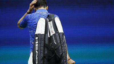 Us Open, forfait Djokovic