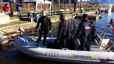 Al via recupero scheletro in lago d'Iseo