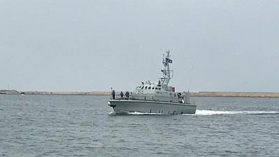 Gdf sequestra nave Eleonore, poi sbarco