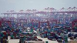 Trade war dents Chinese company profits, portfolio inflows
