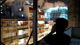 Hong Kong neighbourhoods echo with late night cries for freedom