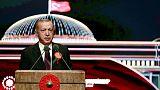 Turkey's Erdogan rebukes lawyers boycotting judicial ceremony at presidential palace