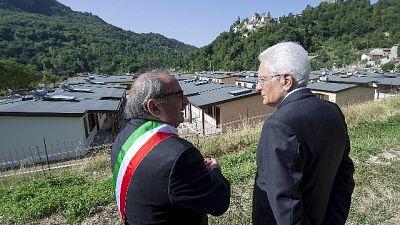 Petrucci, Conte incontri istituzioni