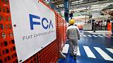 Fiat Chrysler car sales in Italy down 16% in August