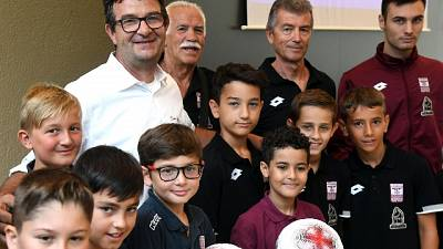 Città sport Bergamo intitolata a Yara