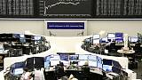 European shares dip for first session in four