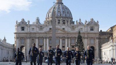 Athletica Vaticana alla 'run for peace'