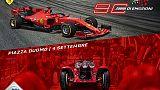 La festa Aci-Ferrari con Vettel e Lecler