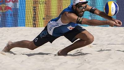 Il Beach volley a Roma con Lupo-Nicolai