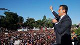 Turkish minister threatens Istanbul mayor over ousted Kurdish mayors