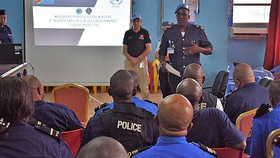 Police des Nations Unies (UNPOL) forme des Officiers de Police judiciaire dans la lutte contre les enlèvements à Kinshasa